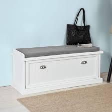 Hallway Shoe Storage Bench Sobuy Hallway Shoe Storage Bench Entryway Seat Organizer Unit