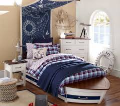 nautical headboard nautical boys bedroom with boat bed frame and fabric map as