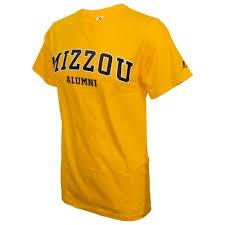 alumni tshirt the mizzou store mizzou alumni gold crew neck t shirt