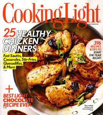 cooking light subscription status cooking light magazine as low as 7 48 for subscription with 2