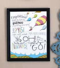 oh the places you ll go graduation gift oh the places you ll go fab party graduation gifts