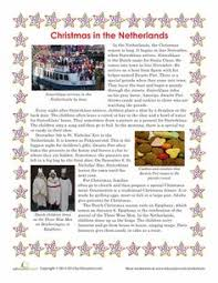 christmas in new zealand comprehension worksheets first grade