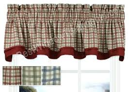 Navy Blue Plaid Curtains Country Curtains Plaid Pillows Country Checkered Curtains Country