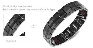 black titanium bracelet images 2017 magnetic black titanium bracelet bracelet delfino retailers jpg