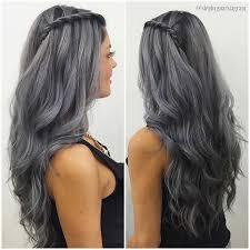 best 25 dark silver hair ideas on pinterest dark grey hair