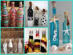 How To Decorate A Wine Bottle Diy Room Decor 40 Beautiful Bottle Decorating Ideas Youtube