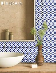 dutch blue tile wall floor kitchen bathroom decal for renter