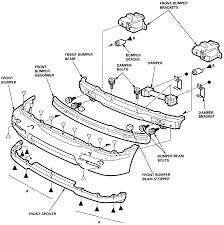 remove front bumper 1991 honda accord