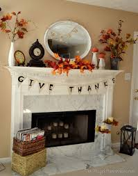diy fall mantel decor ideas to inspire landeelu com decorating the mantel best home design fantasyfantasywild us
