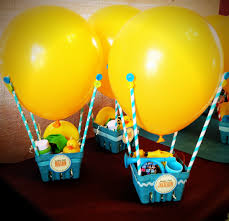 mini air balloon party favors i made them for my prego friend