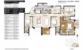 Master Suite Floor Plan Mahindra Windchimes Floor Plans Bannerghatta Road Bangalore
