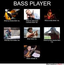 Bass Player Meme - bass player what people think i do what i really do