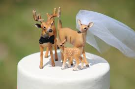 deer family wedding cake topper family cake topper mr u0026