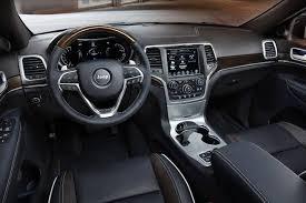 Grand Cherokee Srt Interior 2016 Jeep Grand Cherokee High Altitude Suv Review U0026 Ratings Edmunds