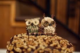 owl cake toppers owl cake topper elizabeth designs the wedding