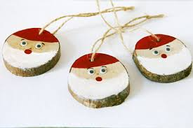 tree decorations handmade wood tree