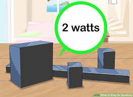 Bookshelf Speakers Wiki How To Shop For Speakers 14 Steps With Pictures Wikihow