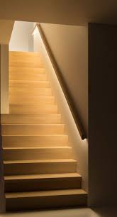 Stair Lighting by Zacht Richtinggevend Egaal Led Licht In Trapleuning Gang