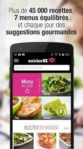application cuisine cuisineaz recettes cuisine play store revenue