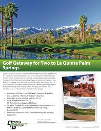 Buffet In Palm Springs by Optimal Fundraising Group