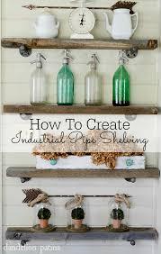 How To Make A Pipe Bookshelf Diy Industrial Pipe Shelving Dandelion Patina
