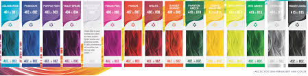 raw hair dye color chart arctic fox hair dye cruelty free dye of arctic fox hair dye color