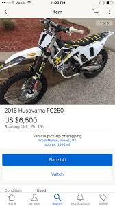 motocross bikes for sale ebay kyle regal u0027s race bike for sale moto related motocross forums