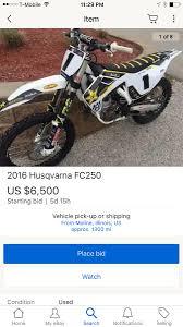 husqvarna motocross bikes for sale kyle regal u0027s race bike for sale moto related motocross forums