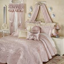 Oversized Quilted Bedspreads Portia Ii Rose Quartz Quilted Oversized Bedspread Bedding
