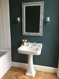 farrow and bathroom ideas farrow inchyra blue on walls karndean light oak parquet