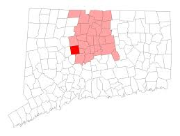 Connecticut State Map by Bristol Connecticut Wikipedia