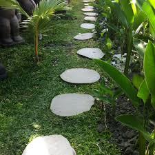 pas japonais en pierre naturelle 5 pas japonais en pierre galet de rivière 50 55cm