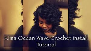 new orleans braid styles how to crochet braids using kima ocean wave hair youtube
