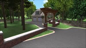 landscape design 3d digital walkthrough building connections