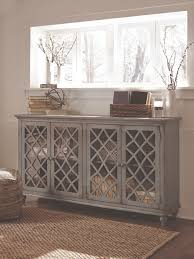 Accent Cabinets by Shabby Chic U0027s Faded Elegance Ashley Furniture Homestore
