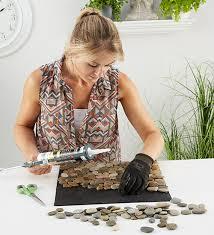 fuãÿmatte selbst designen fussmatte aus steinen selber machen aber warum jetzt so eine