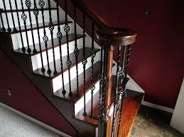 Mahogany Banister Stair Excellent Picture Of Curved Staircase Decoration Using