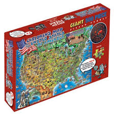 usa map jigsaw puzzle dinos usa 500 jigsaw puzzle maps