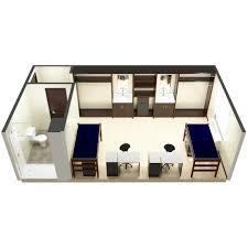 dorm room arrangement room types