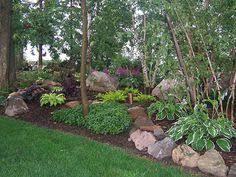 Boulder Landscaping Ideas Landscape Berms Found On Rosehillgardens Com Sequin Gardens