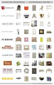 10 online sources for affordable decor shopping decor interior