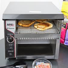 Conveyor Toaster For Home Apw Wyott At Express Conveyor Toaster With 1 1 2