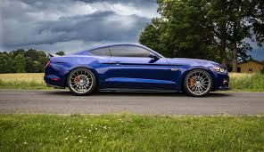 frozen mustang ford mustang s550 with ff15 in fog hre performance wheels