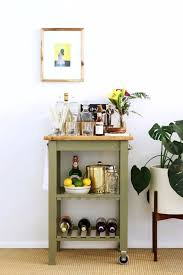 Narrow Kitchen Cart by Best 25 Ikea Bar Cart Ideas On Pinterest Diy Bar Cart Bar