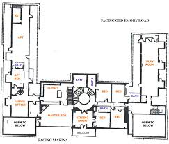 Floor Plan For Mansion 182 Whirlwind Lane Original Floorplan For The Butcher Mansion