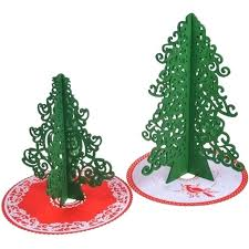tabletop trees small artificial tree with colored