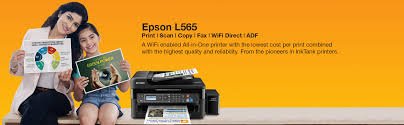 amazon in buy epson l565 wi fi all in one ink tank printer online