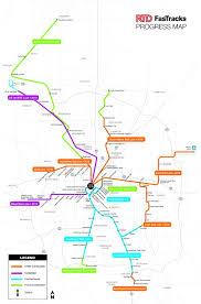 light rail information for downtown denver transportation