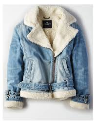 jean sweater jacket jackets coats for eagle outfitters