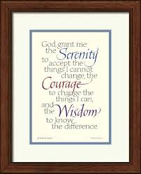 serenity prayer inspirational prints serenity prayer framed
